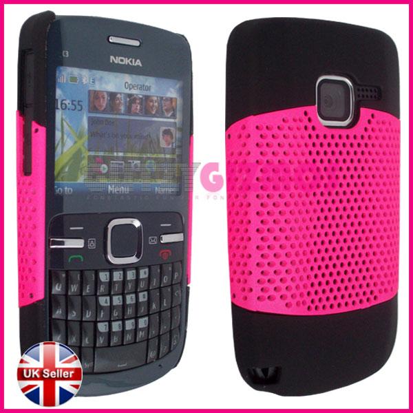 discount sale 91fff ec80c Index of /ebay/images/hard case/nokia/c3/mesh/hot pink
